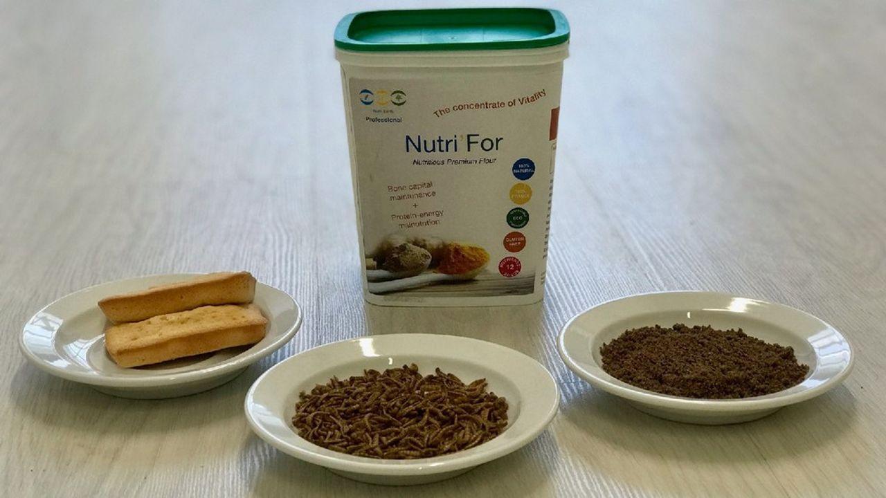 Au premier trimestre 2020, la société démarrera la commercialisation en Suisse de ses farines à base d'insectes dédiées à la nutrition des seniors.