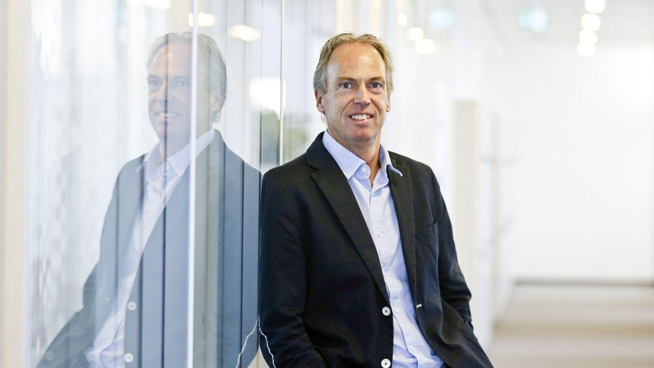 Christian Drenthen, membre du conseil d'administration de DB Schenker, en charge du transport terrestre.