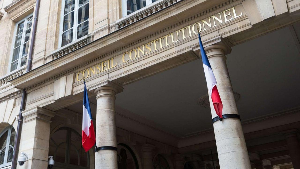 Le Conseil constitutionnel, rue Montpensier, à Paris.