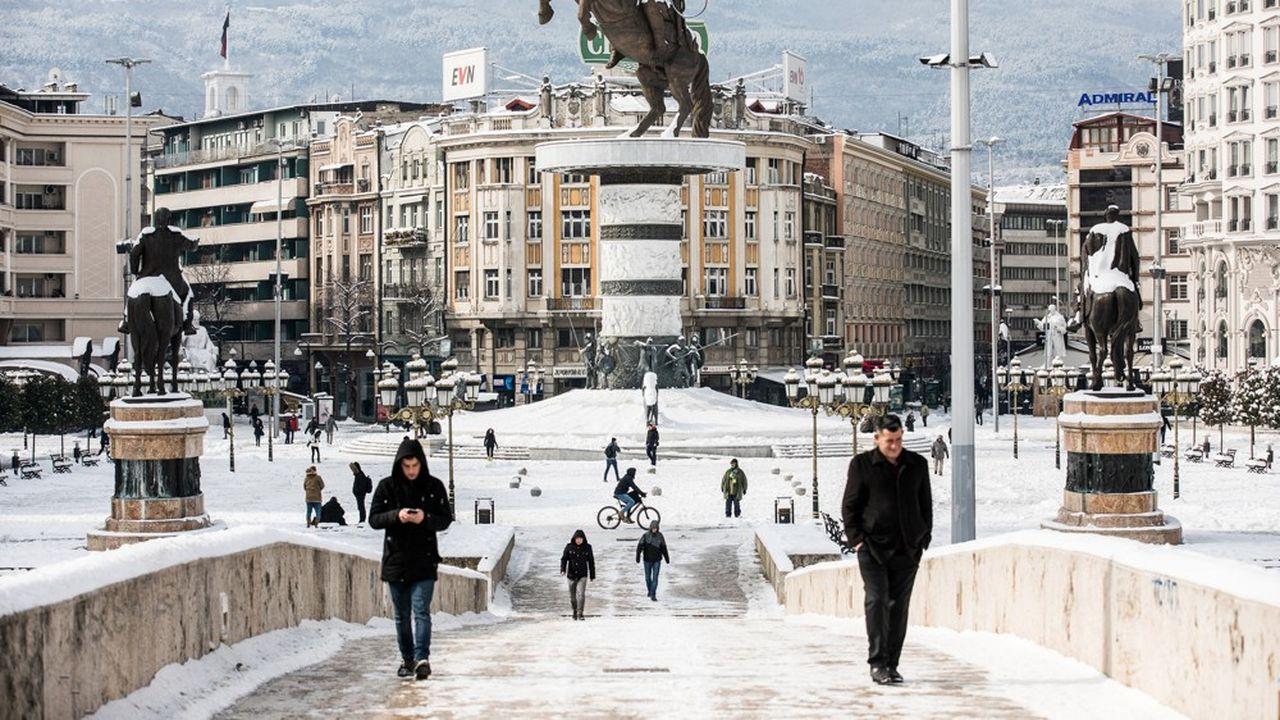 A Skopje, en Macédoine du Nord, le blocage de la France a été vécu comme une gifle.