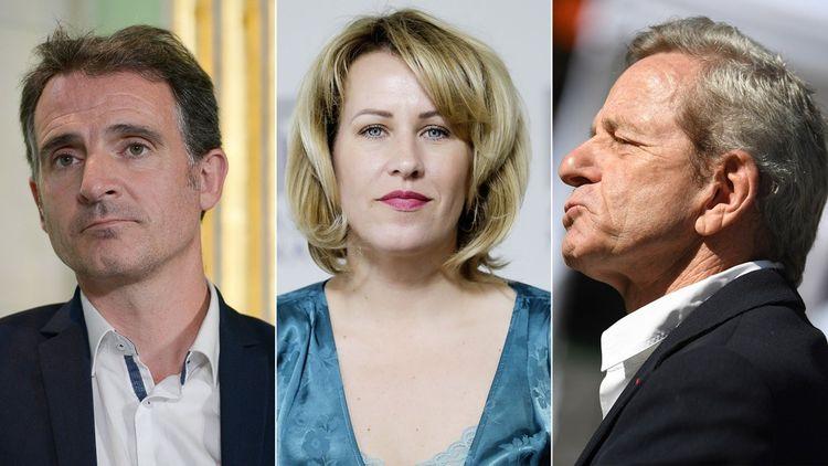 Eric Piolle, Emilie Chalas et Alain Carignon.