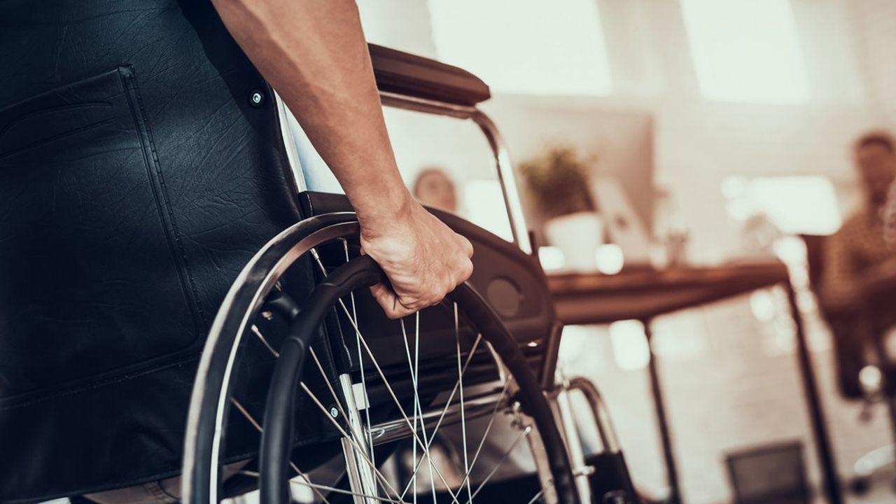 Le taux de chômage des personnes handicapées reste toujours le double de la moyenne nationale.