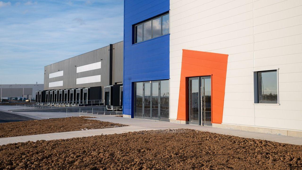 Entrepôt Catella Logistics Europe de Troyes.