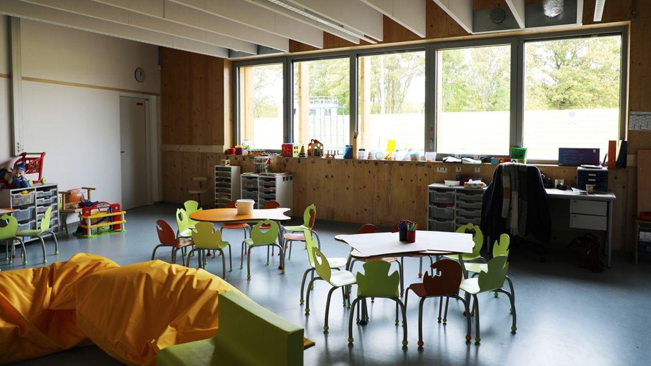 Le groupe scolaire est situé au coeur de l'écoquartier des Meuniers à Bessancourt.