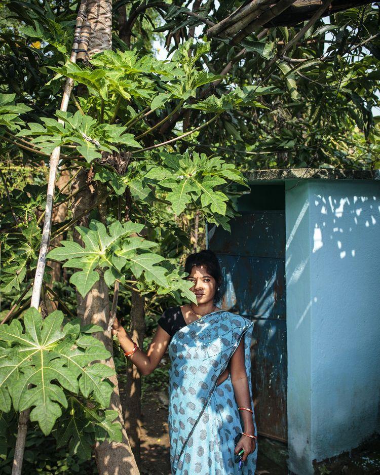 Sewanti Devi et le groupe de femmes d'Udaipura ont construit à elles seules une centaine de toilettes en dur.