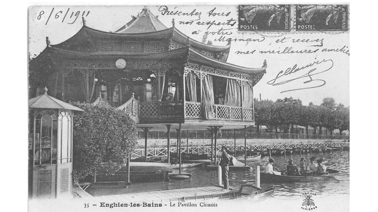Le Pavillon en 1911.