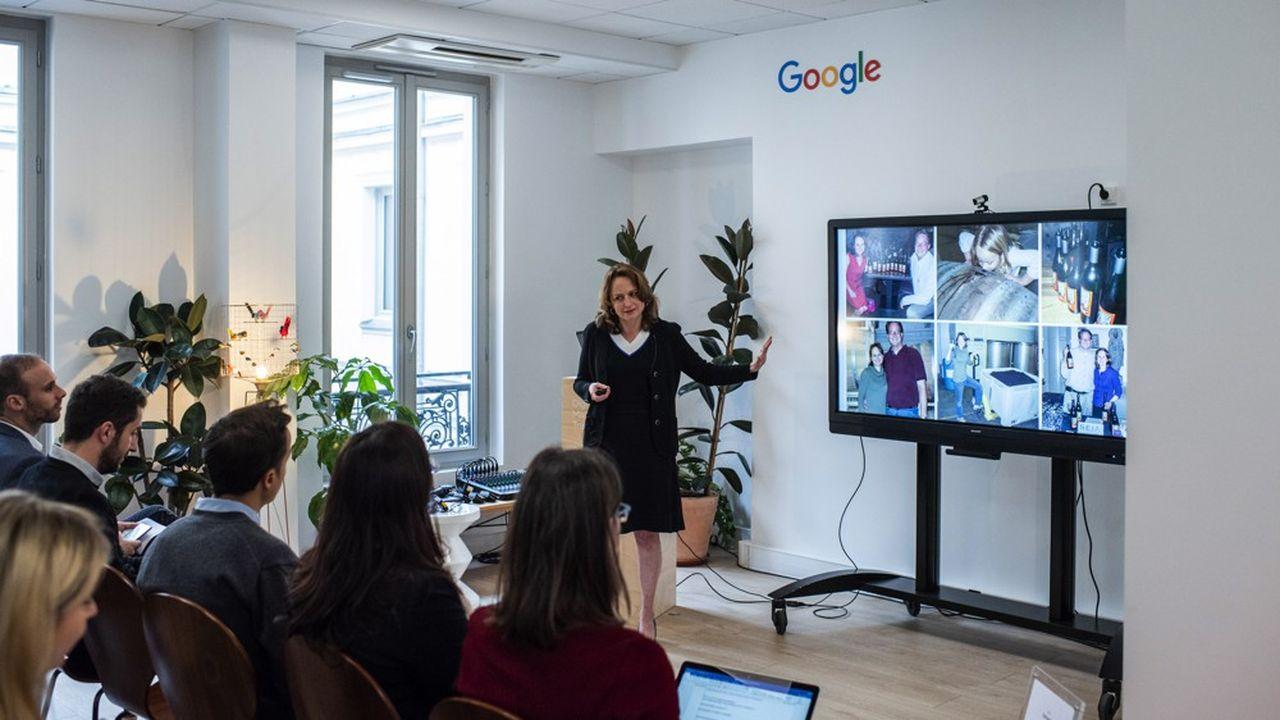 Kim Spalding (photo) est la directrice produit de Google chargée de l'offre publicitaire pour les PME au niveau monde.