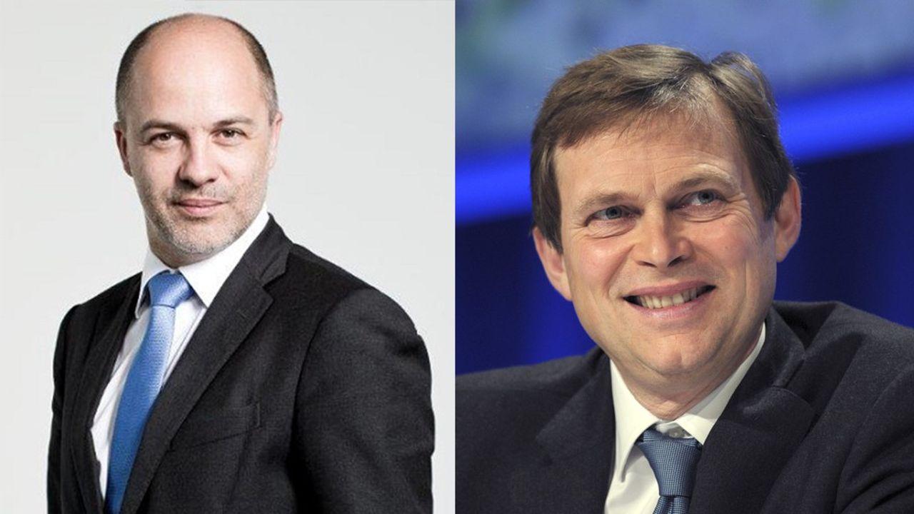 Arnaud Dupui-Castérès et Philippe Manière.