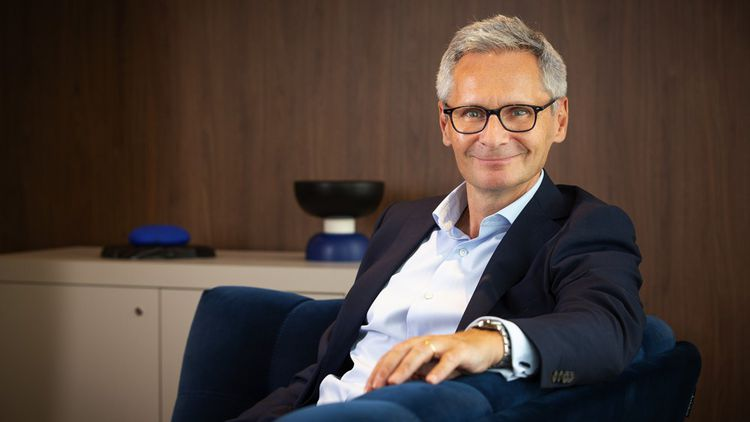 Thierry Le Hénaff, le président-directeur général du groupe chimique Arkema.