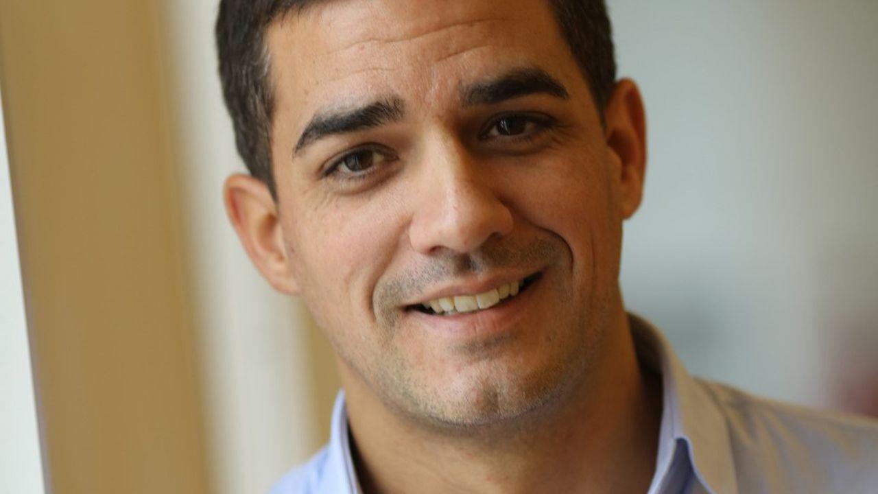 Christophe Bancel, directeur général de la société parisienne Tissium, créée sous le nom de Gecko Biomedical en 2013.