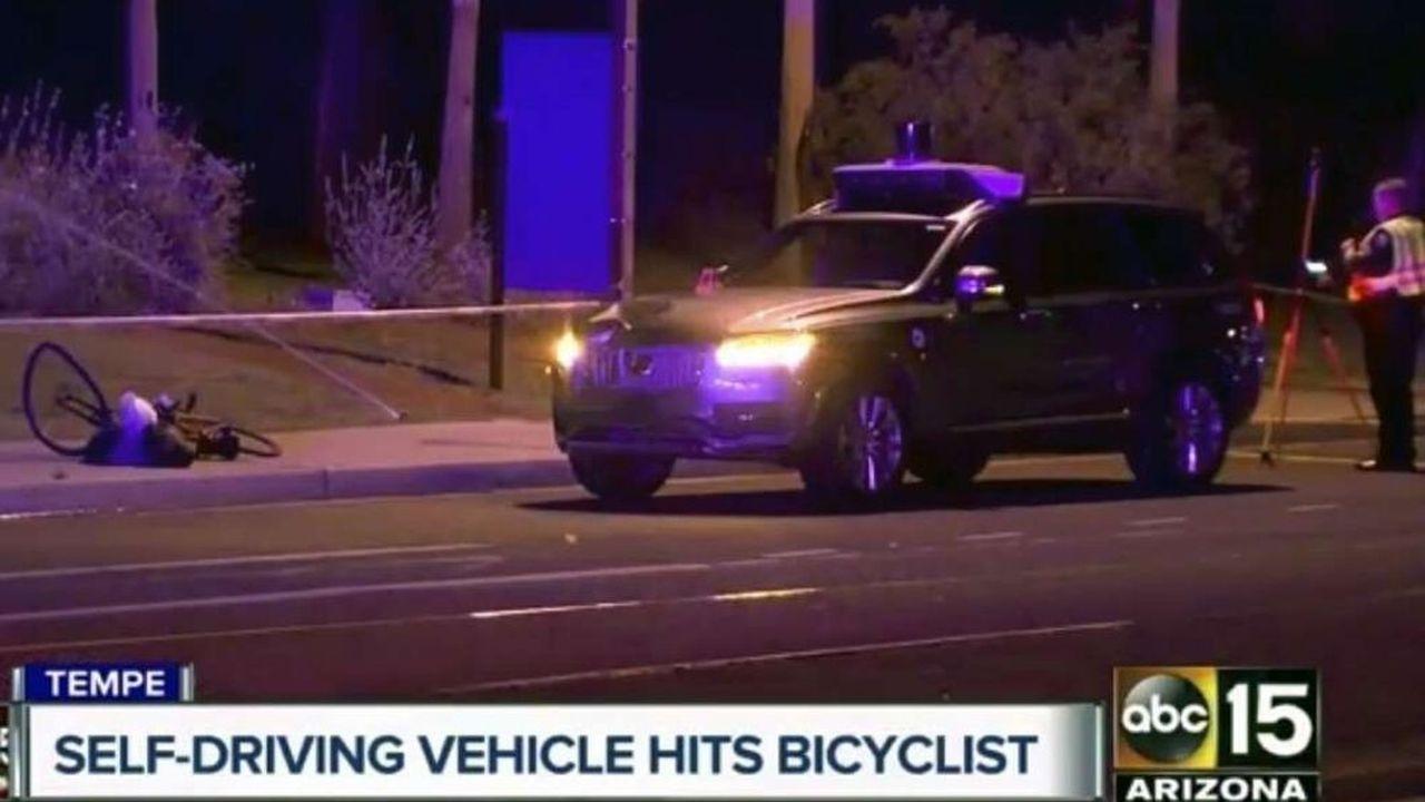 Voiture autonome : une agence américaine étrille Uber pour l'accident mortel de 2018