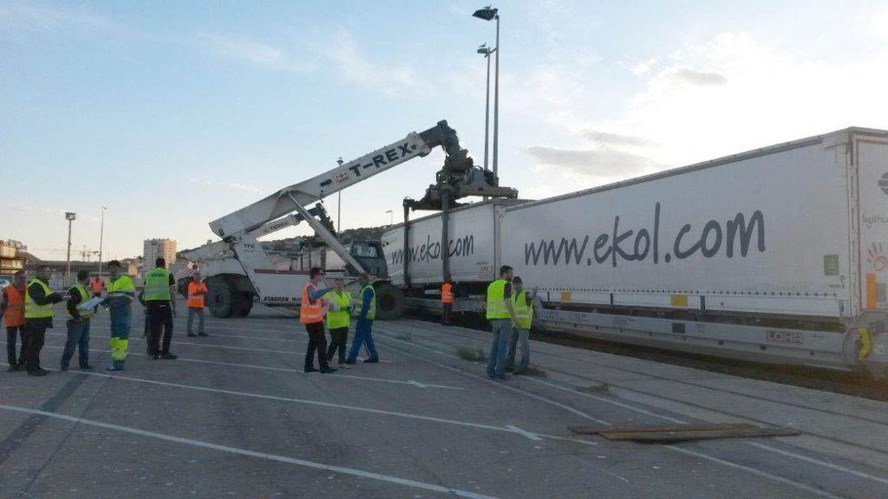 Une filiale de la SNCF va ouvrir une autoroute ferroviaire entre Sète et Calais