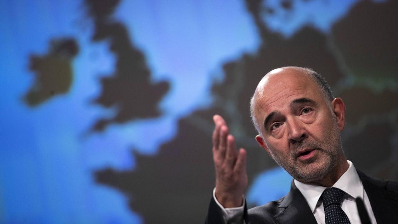 Pierre Moscovici, le Commissaire européen aux Affaires économiques, a souligné la «stabilisation de la dette à des niveaux très élevés» pour la France.