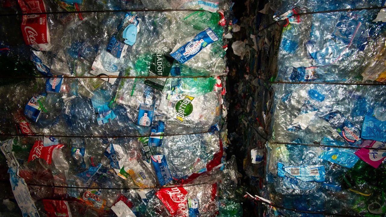 La France va devoir atteindre l'objectif européen de 90 % de collecte des bouteiles en plastique.