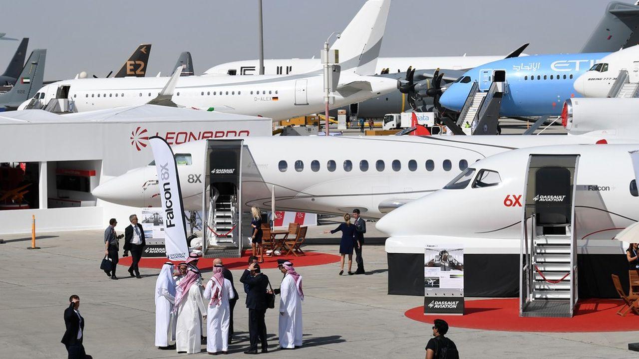 Les prises de commandes de l'édition 2019 du Salon aéronautique de Dubaï sont plus modestes que par le passé.