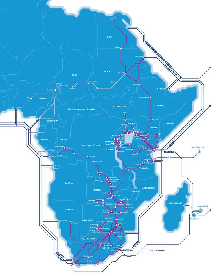 Liquid Telecom a prévu une deuxième liaison Est-Ouest africaine reliant Khartoum à Lagos et Douala