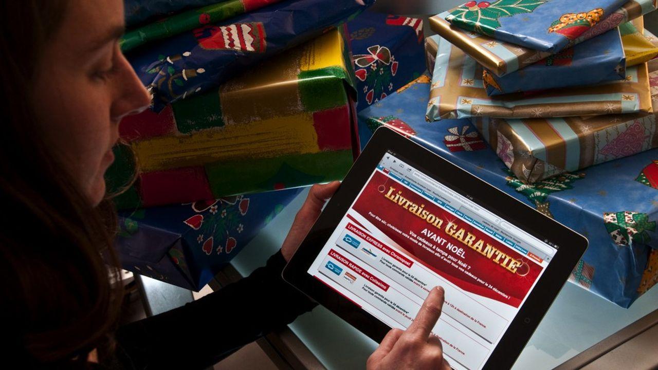 Jeux et jouets, produits culturels, vêtements et parfums sont les produits les plus commandés sur Internet pour Noël.