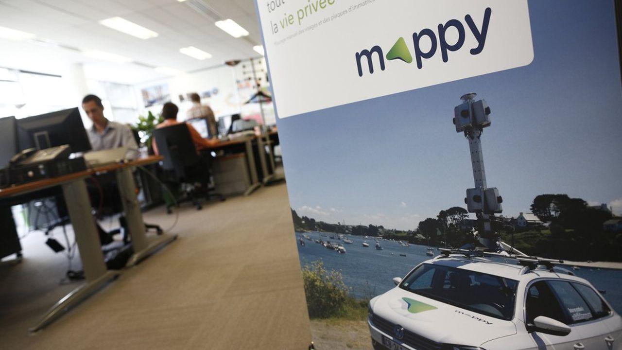 Le siege social de Mappy