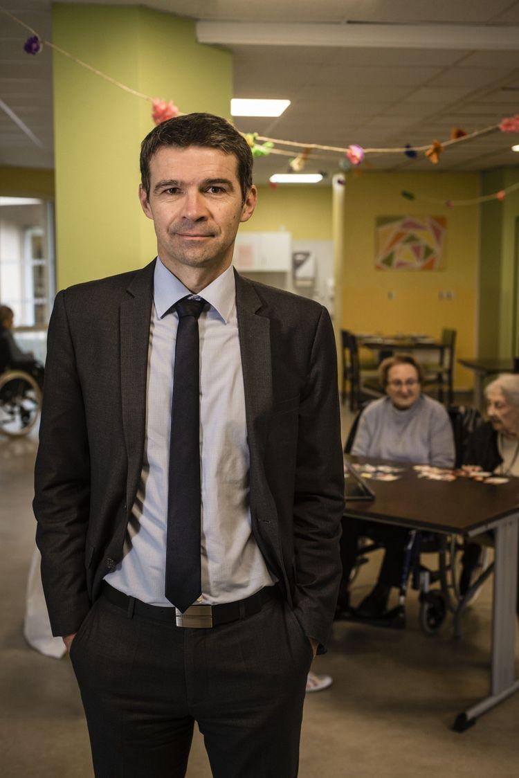 David Penneroux , directeur d'Ehpad, teste la télémédecine dans ses établissements.