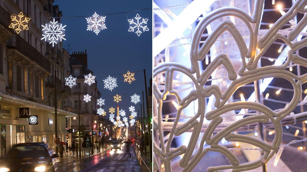 Des villes comme Blois et Calais ont déjà adopté le nouveau matériau de Blachère Illumination à base de canne à sucre.