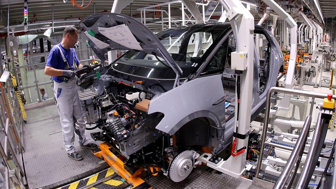Le «made in Germany» n'est plus le premier moteur de la croissance allemande: la (mini) croissance du troisième trimestre a été drainée par la consommation et la construction.