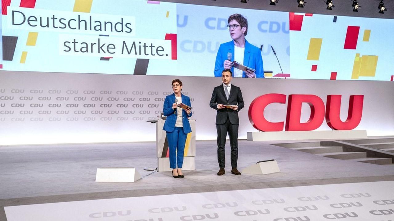 AKK reprend le dessus à la tête de la CDU