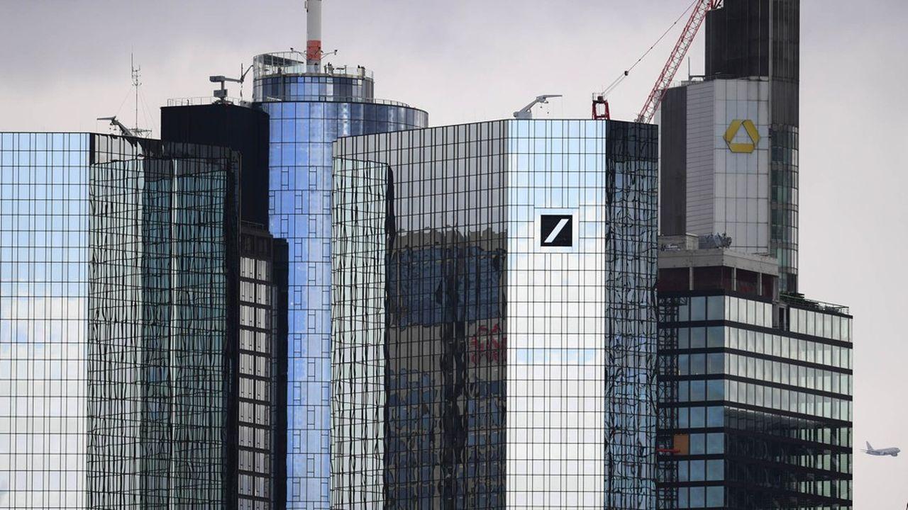 Les coûts des banques allemandes restent mal maîtrisés malgré le mouvement de restructuration en cours.
