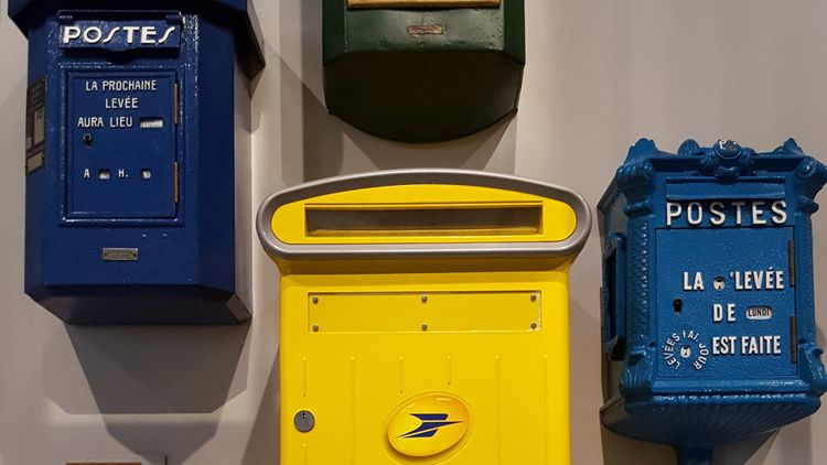La boîte à lettres a inspiré aussi les designers.