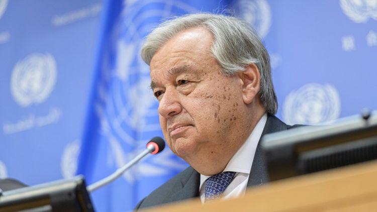 Le secrétaire général de l'ONU Antonio Guterres