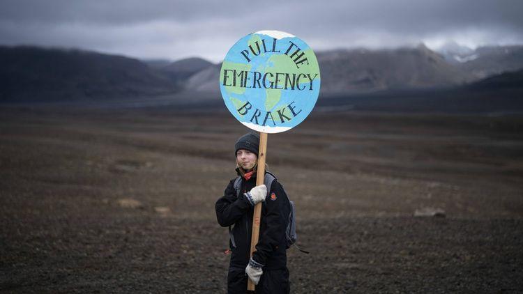 En Islande, le glacier Okjökull est considéré comme mort.