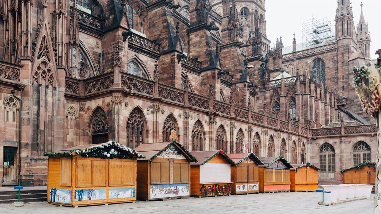La cathédrale de Strasbourg est équipée de murs coupe-feu en béton.