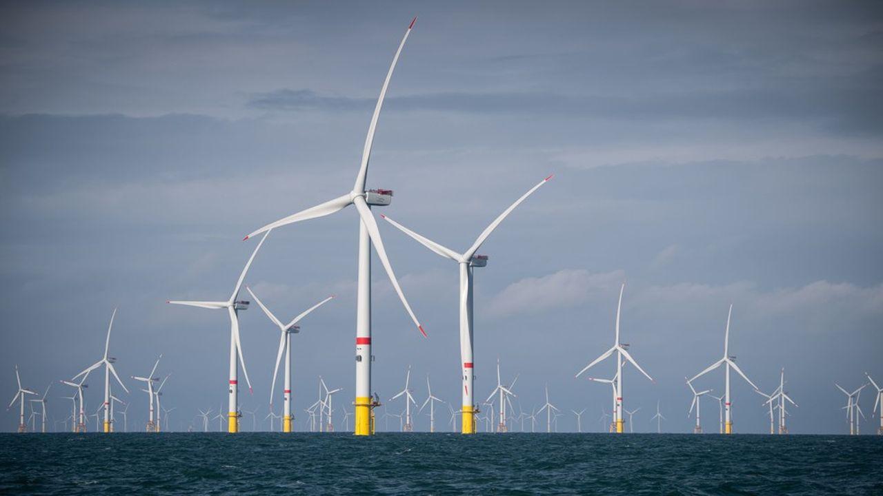 Sur une capacité totale de 4,9 gigawatts, l'énergie éolienne ne représente encore que 1,36MW dans la production d'électricité d'Eneco.