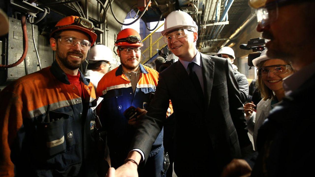 Le ministre de l'Economie Bruno Le Maire s'est beaucoup investi dans le sauvetage de l'aciérie nordique.