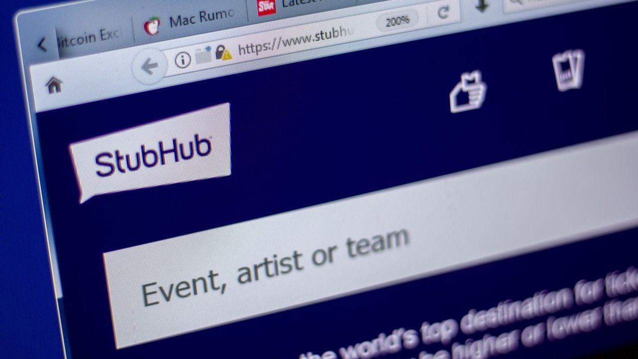 StubHub avait été acheté par eBay pour 310millions de dollars en 2007.
