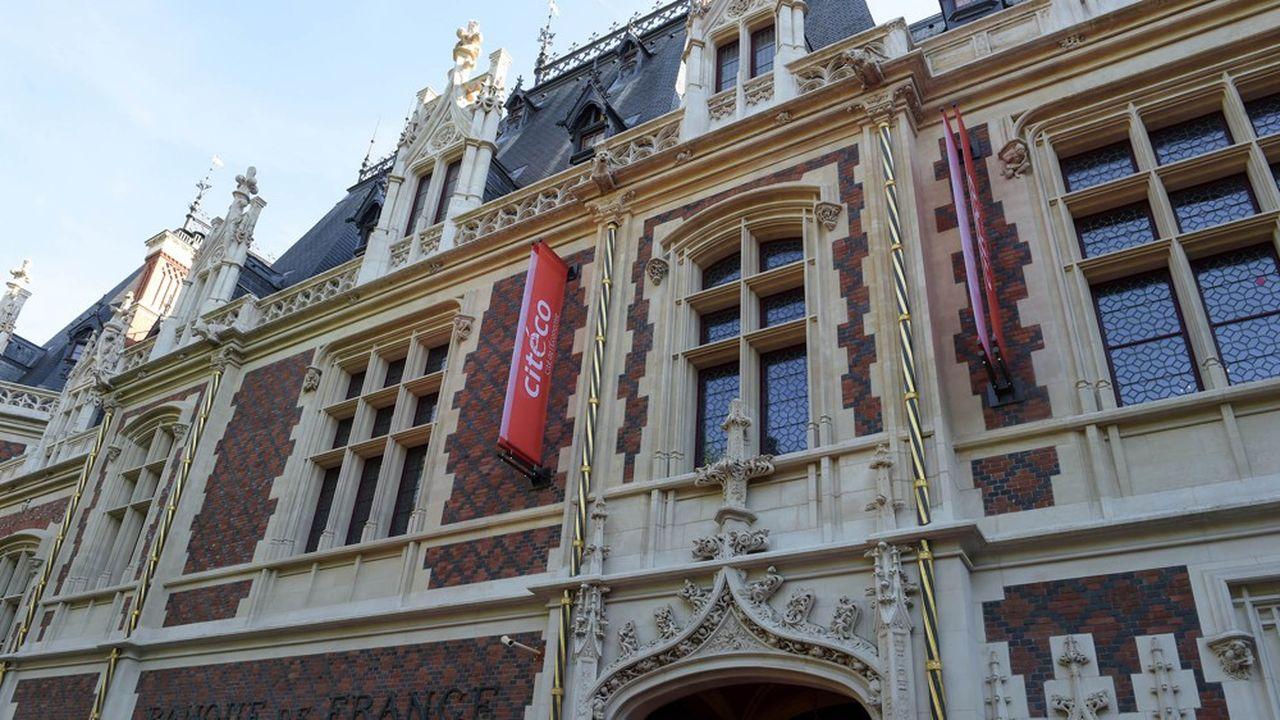 La Cité de l'économie ou «Citéco», a ouvert ses portes en juin2019 à Paris.