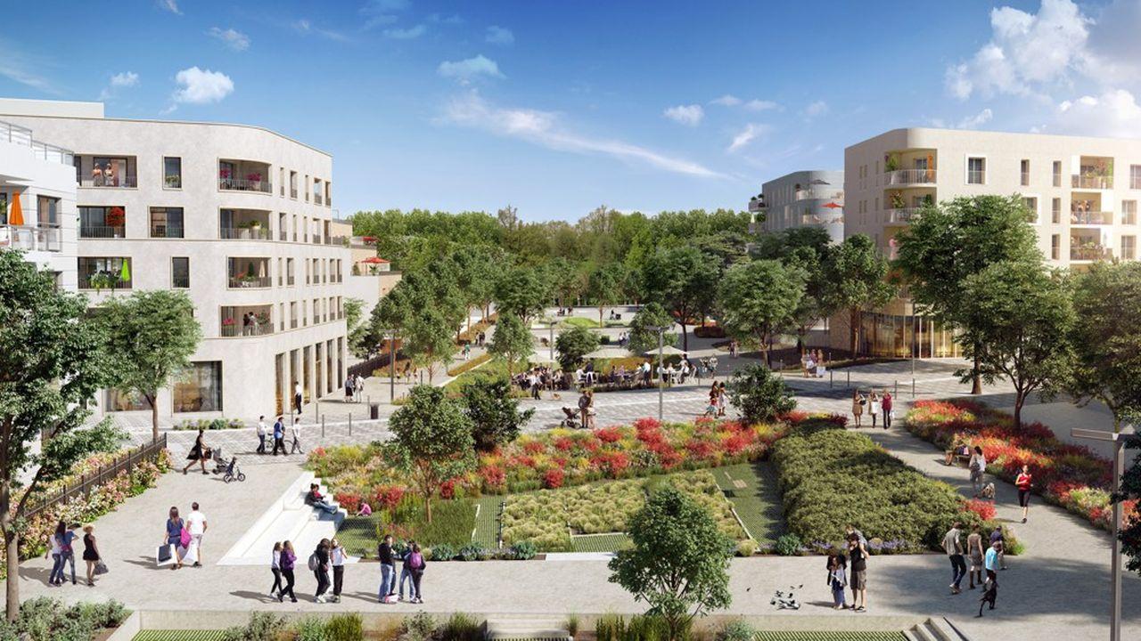 L'écoquartier « LaVallée » a été ainsi nommé en référence au fondateur de l'Ecole Centrale, Alphonse LaVallée.