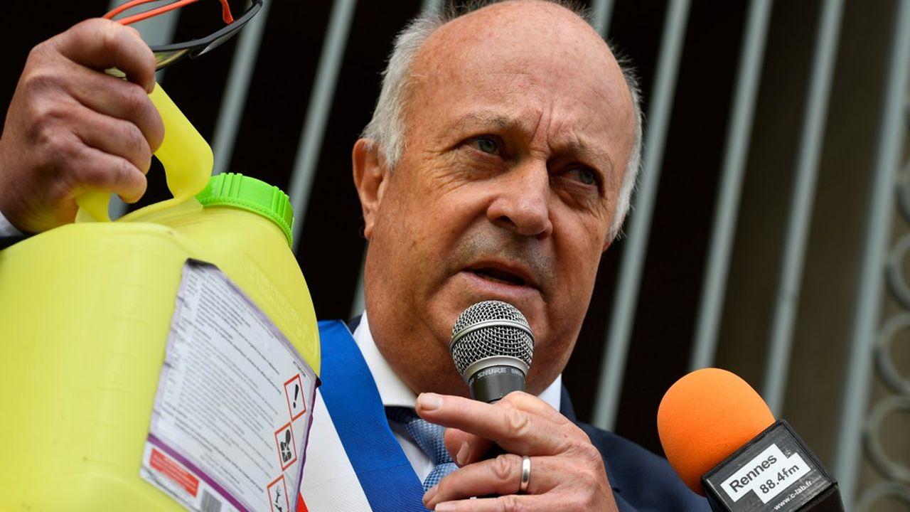 Daniel Cueff, le maire de Langouët a pris un arrêté le 18mai pour bannir les pesticides.