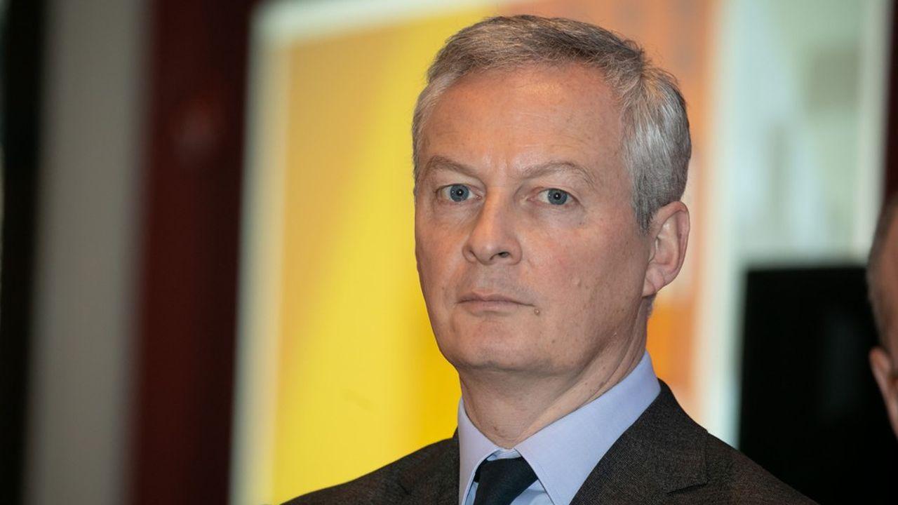 Bruno Le Maire, le ministre des Finances français plaide pour un impôt minimum de 12,5 % au niveau mondial pour les entreprises. Un accord est à portée de main à l'OCDE.