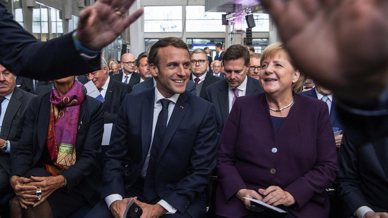 Paris et Berlin font style affichage d'une volonté commune sur l'avenir de l'Europe thumbnail