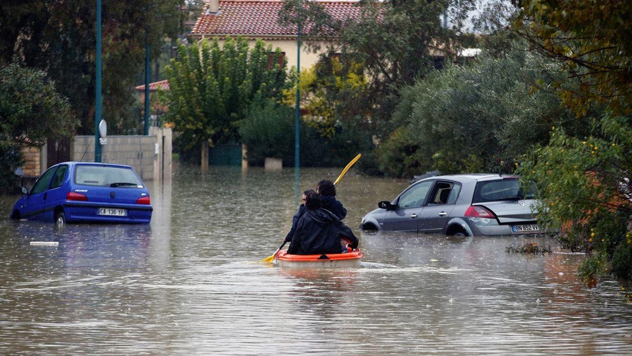 La Côte d'Azur a été touchée le week-end dernier par des pluies exceptionnelles et des inondations.