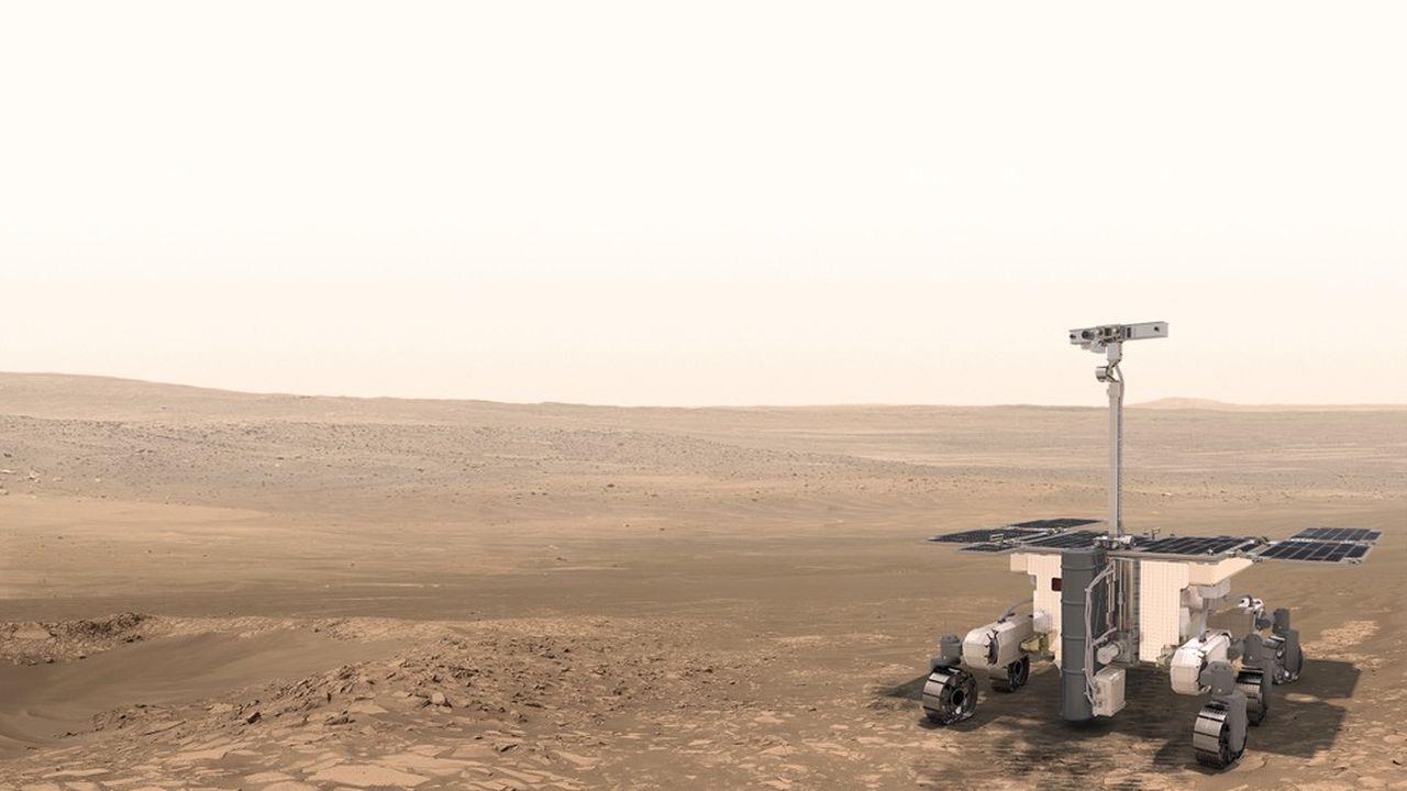 La missionExoMars2020, dont le but est de lancer un rover sur Mars pour ramener des échantillons, a connu nombre d'aléas financiers, notamment avec des annulations de la Nasa, mais l'Agence spatiale européenne souhaite poursuivre avec le soutien européen.