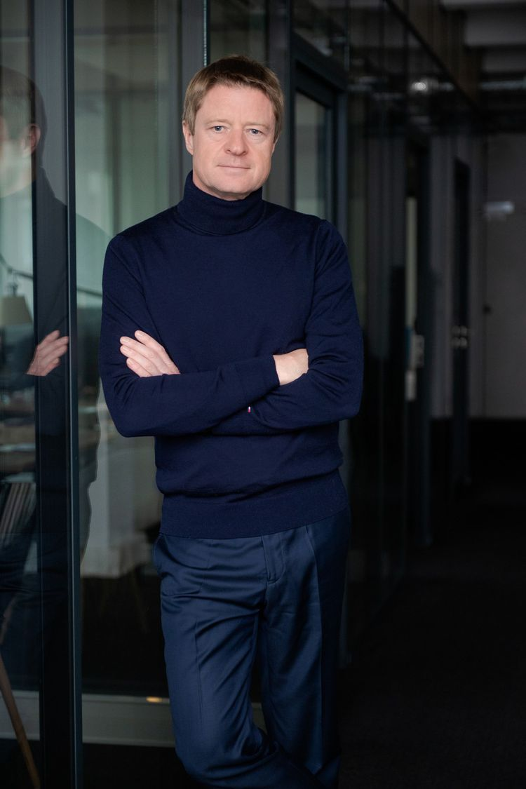 Laurent Dusollier, le directeur général d'Odalys Groupe.