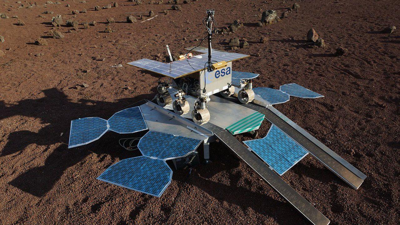 L'astromobile «Rosalind Franklin» doit couronner le programme européen ExoMars.