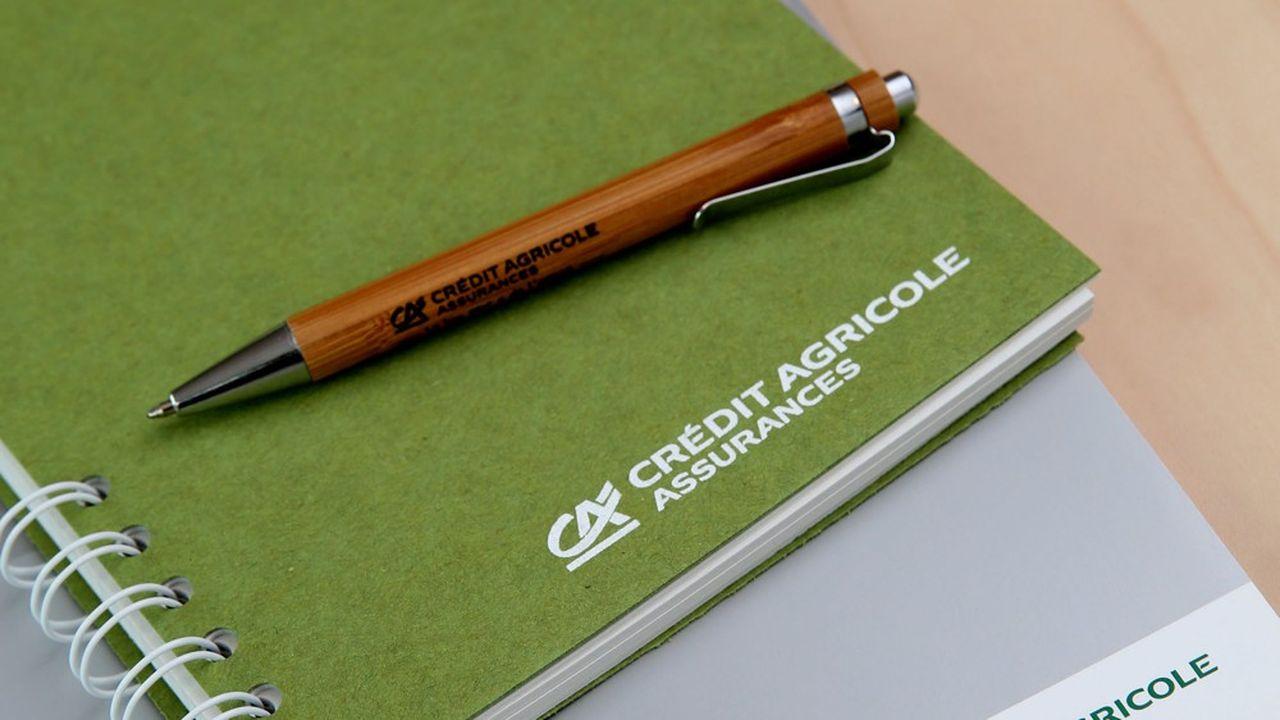Crédit Agricole Assurances est le deuxième plus gros assureur vie en France.