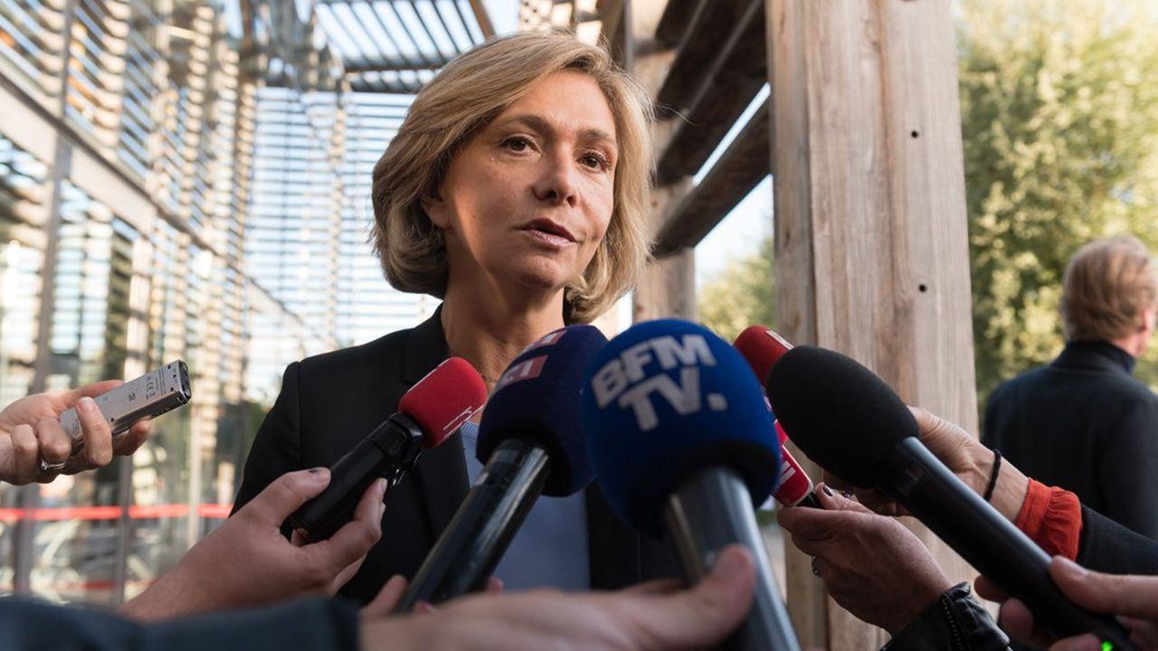 Valérie Pecresse, présidente de la région Ile-de-France.
