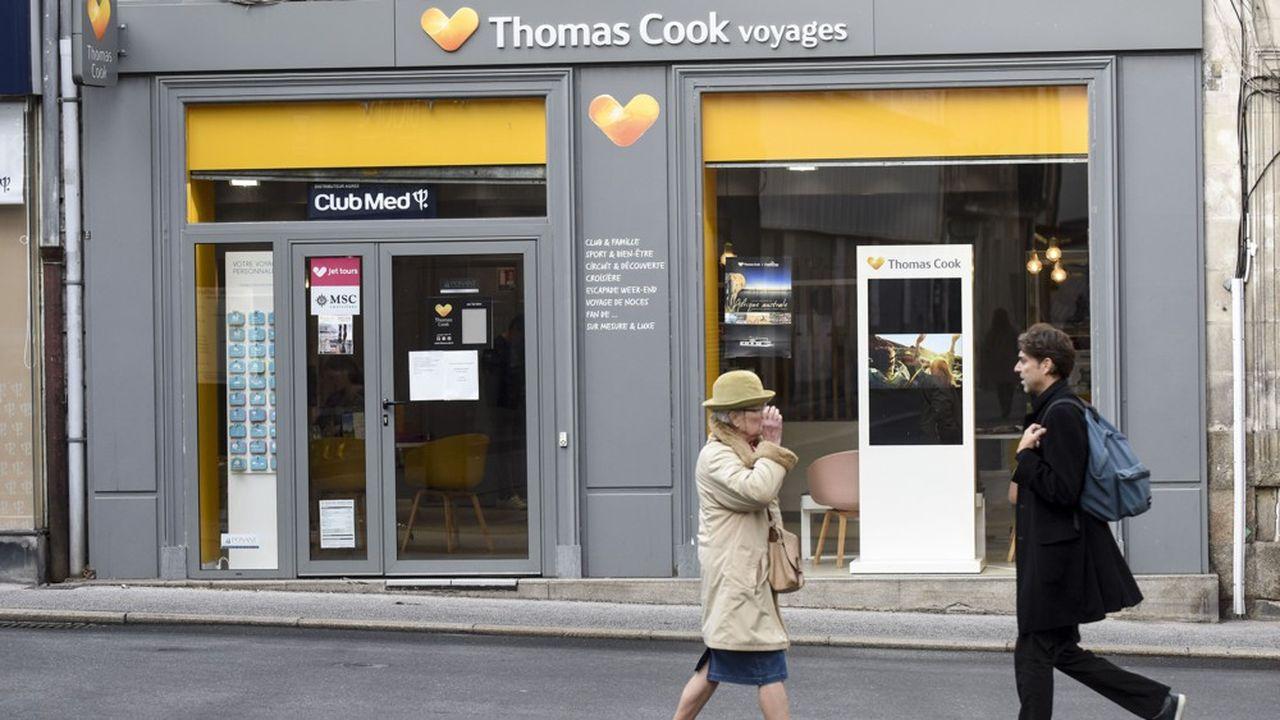 Faute de candidat à sa reprise, l'activité de tour-opérateur de Thomas Cook France, qui générait la moitié de ses revenus, fera l'objet d'une décision séparée du tribunal de commerce de Nanterre.