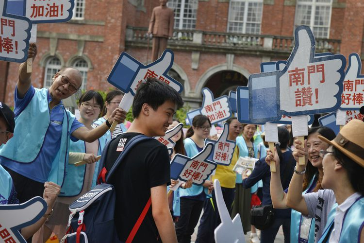 Parmi les pays d'Asie à figurer dans le classement Pisa: les élèves de Tapei se situent en bonne place, encouragés par leurs parents et enseignants.