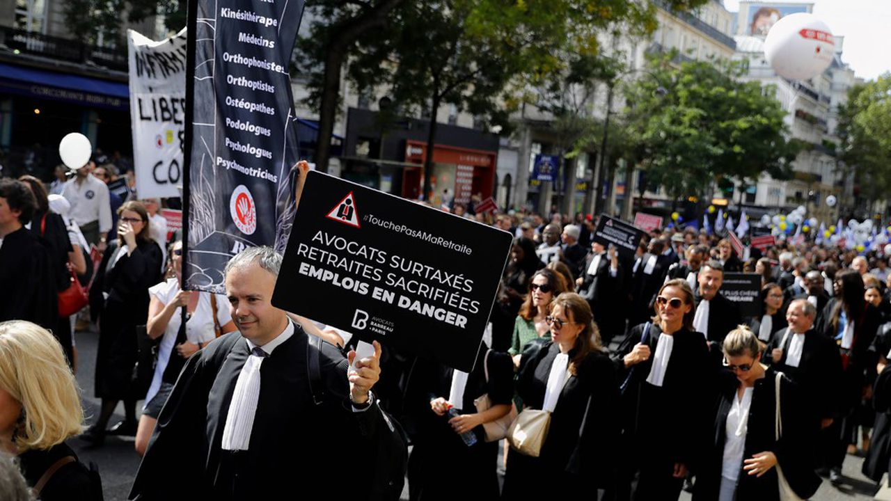 Manifestation contre la réforme des retraites, Paris septembre 2019
