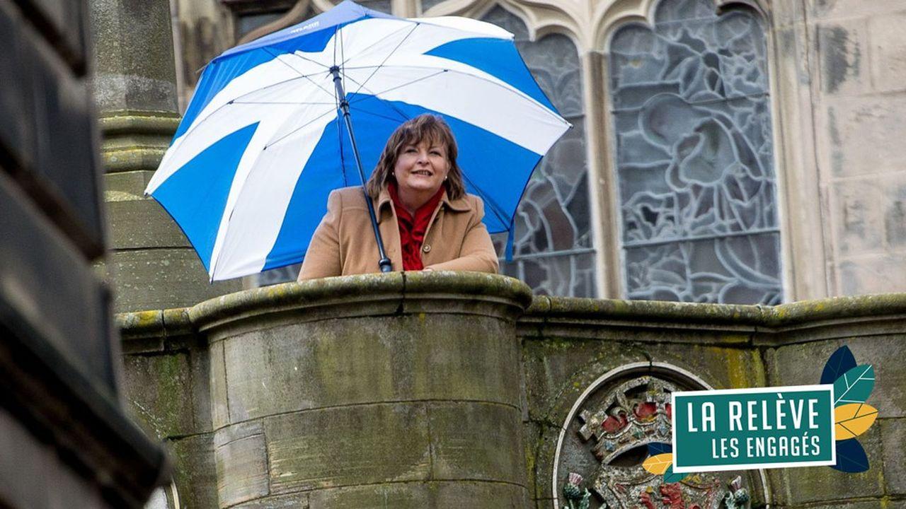 Ministre de la culture, du tourisme et des affaires extérieuresdu gouvernement écossais, Fiona Hyslop est une indépendantiste convaincue qui souhaite que l'Ecosse demeure en Europe malgré le Brexit.