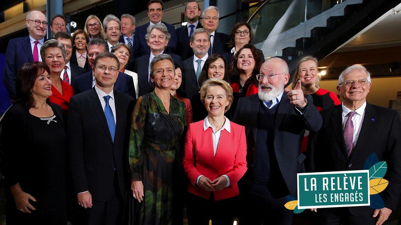 Von der Leyen prend la tête de l'UE